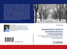 Bookcover of Computational study of correlated electrons in one-dimension