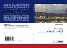 Buchcover von The radar multiplier method