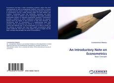 Bookcover of An Introductory Note on Econometrics