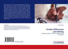 Gender Differences and Writing kitap kapağı