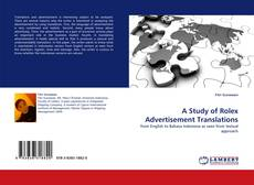 Обложка A Study of Rolex Advertisement Translations