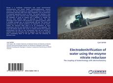 Electrodenitrification of water using the enzyme nitrate reductase的封面