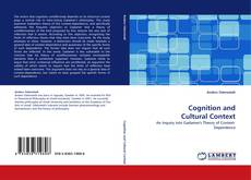Bookcover of Cognition and Cultural Context