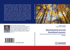 Bookcover of Nonindustrial private forestland owners: