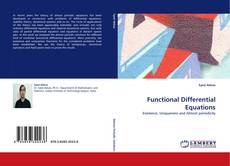 Copertina di Functional Differential Equations