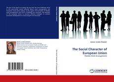Buchcover von The Social Character of European Union