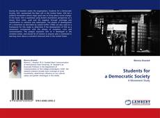 Bookcover of Students for a Democratic Society