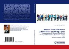 Portada del libro de Research on Taiwanese Adolescent''s Learning Styles