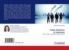 Copertina di Public Relations in Indonesia