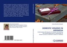 Copertina di DOMESTIC VIOLENCE IN INDONESIA