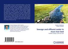 Capa do livro de Sewage and effluent water in musi river bed