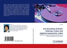 Couverture de List decoding of Reed-Solomon codes and algebraic-geometric codes