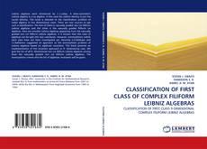 Bookcover of CLASSIFICATION OF FIRST CLASS OF COMPLEX FILIFORM LEIBNIZ ALGEBRAS