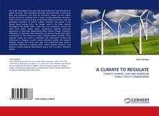 Capa do livro de A CLIMATE TO REGULATE