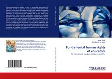 Capa do livro de Fundamental human rights of educators