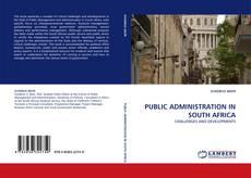 Borítókép a  PUBLIC ADMINISTRATION IN SOUTH AFRICA - hoz