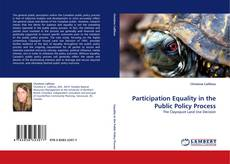 Bookcover of Participation Equality in the Public Policy Process