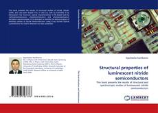Обложка Structural properties of luminescent nitride semiconductors
