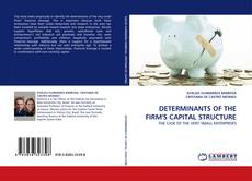 Bookcover of DETERMINANTS OF THE FIRM''S CAPITAL STRUCTURE