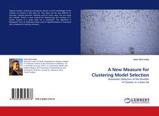 Bookcover of A New Measure for Clustering Model Selection