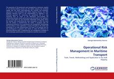 Обложка Operational Risk Management in Maritime Transport