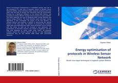 Portada del libro de Energy optimisation of protocols in Wireless Sensor Network