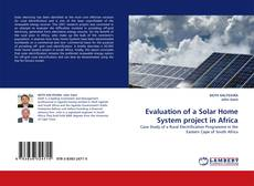 Buchcover von Evaluation of a Solar Home System project in Africa