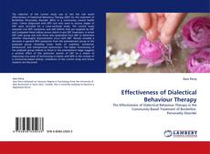 Bookcover of Effectiveness of Dialectical Behaviour Therapy