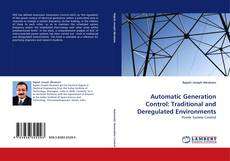 Automatic Generation Control: Traditional and Deregulated Environments kitap kapağı