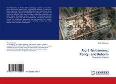 Portada del libro de Aid Effectiveness, Policy, and Reform