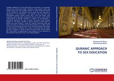 Buchcover von QURANIC APPROACH TO SEX EDUCATION