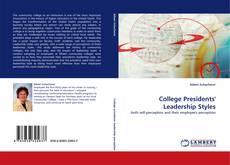 Portada del libro de College Presidents'' Leadership Styles