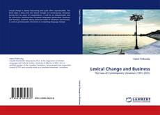 Bookcover of Lexical Change and Business