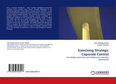 Bookcover of Exercising Strategic Coporate Control