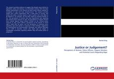 Bookcover of Justice or Judgement?