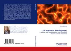 Couverture de Education to Employment