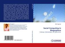 Bookcover of Social Computing in Blogosphere