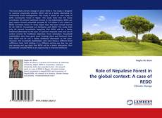 Buchcover von Role of Nepalese Forest in the global context: A case of REDD