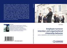 Bookcover of Employee turnover intention and organizational citizenship behavior