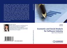 Economic and Social Analysis for Software Industry的封面
