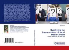 Capa do livro de Quantifying the Trustworthiness of Social Media Content