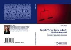 Capa do livro de Female Verbal Crime in Early Modern England
