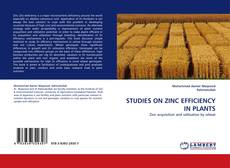 Bookcover of STUDIES ON ZINC EFFICIENCY IN PLANTS
