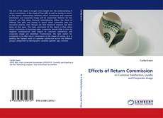 Portada del libro de Effects of Return Commission