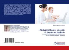 Couverture de Attitudinal Career Maturity of Singapore Students