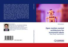 Buchcover von Open motion control architecture for humanoid robots