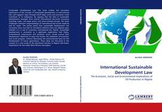 Bookcover of International Sustainable Development Law