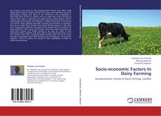 Bookcover of Socio-economic Factors In Dairy Farming