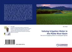 Buchcover von Valuing Irrigation Water in the Platte River Basin