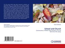 Bookcover of School and Church